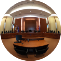 360-degree Image of the Civic Square Council Chambers