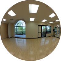 360-degree Image of the Wellness Centre Aerobic Room