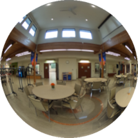 360-degree Image of the Wellness Centre Atrium