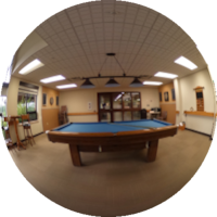360-degree Image of the Wellness Centre Games Room