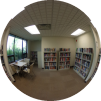 360-degree Image of the Wellness Centre Library
