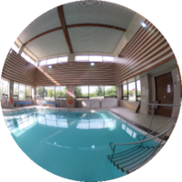 360-degree Image of the Wellness Centre Therapeutic Pool