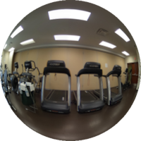 360-degree Image of the Wellness Centre Workout Room