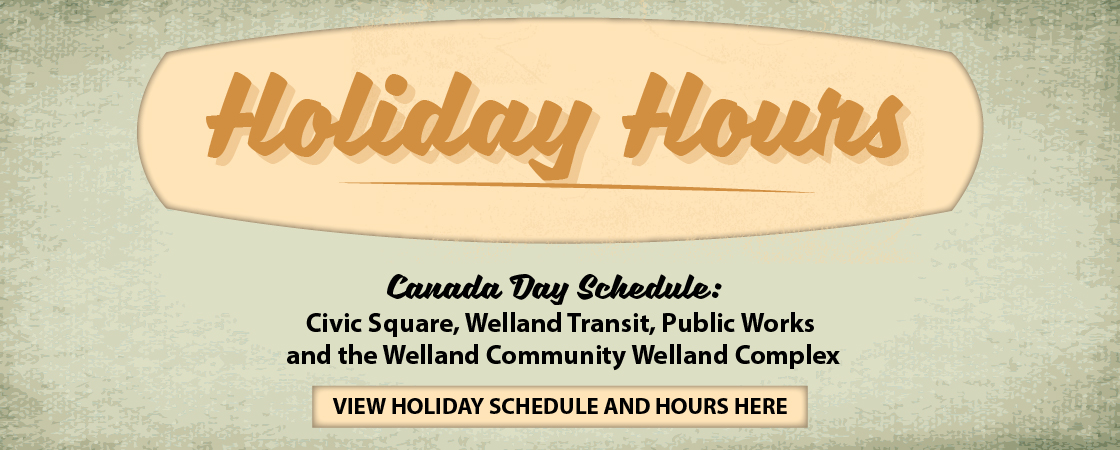 Image of Holiday Hours