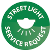 Streetlight service request