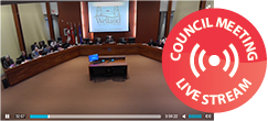 Council Meetings Live stream